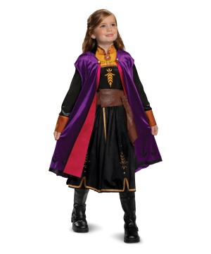 Girls Frozen 2 Anna Costume deluxe