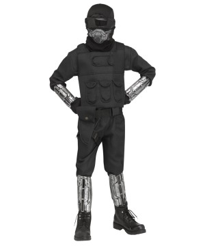 Gaming Fighter Kids Costume