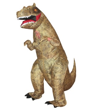Giant Inflatable T-rex Boys Costume