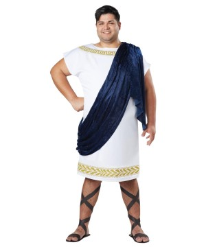 Grecian Toga Men plus size Costume