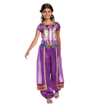 Jasmine Purple Girls Costume