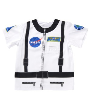 Kids Printed Astronaut Shirt