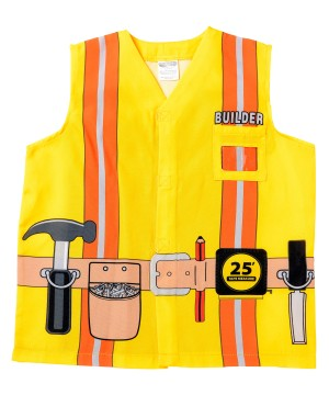 Kids Printed Construction Worker Shirt