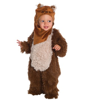 Toddler Ewok Plush Costume