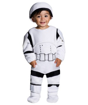Toddler Storm Trooper Plush Costume