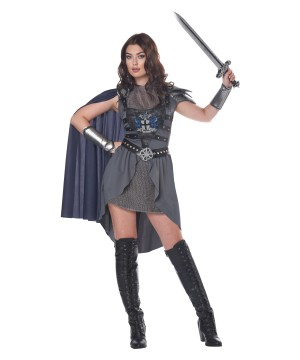 Lady Knight Womens Costume
