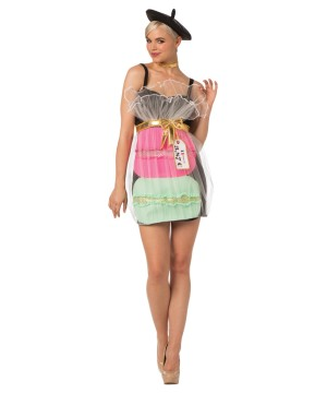 Womens Macaron Dress Costume