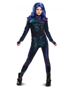 Mal Descendants 3 deluxe Girl Costume