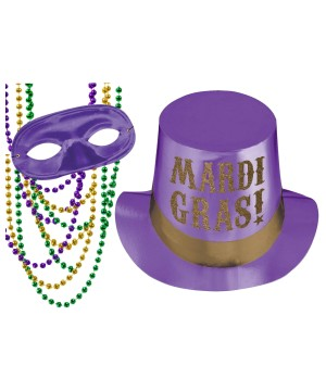 Purple Party Mardi Gras Kit