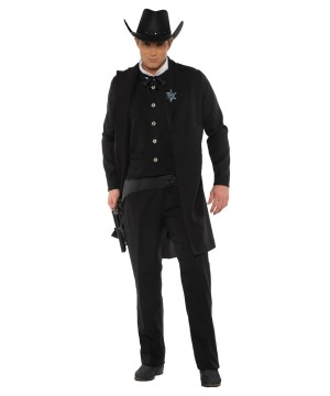 Mens Dark Sheriff Costumes