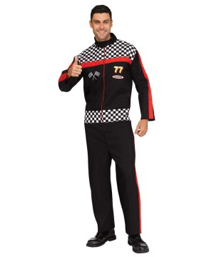 Mens Race Driver Costume