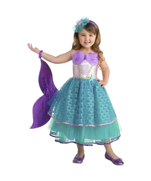 Seawater Sweetie Mermaid Costume