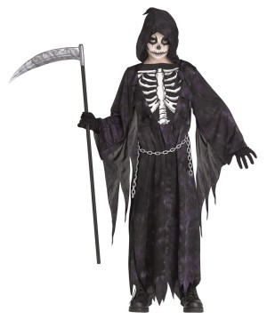 Midnight Reaper Kidsrens Costume