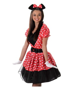 Womens Miss Mouse Costume