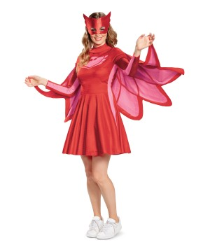 Pj Masks Owlette Womens Costume