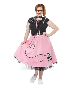 50s Sweetheart plus size Women Costume