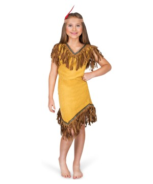 Pocahontas Girls Costume