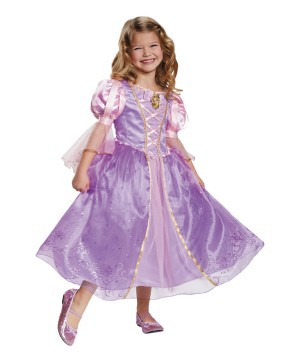 Rapunzel Prestige Girls Costume