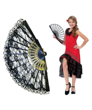 Girls Spanish Dancer Kit Costume