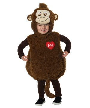 Toddlers Build-a-bear Smiley Monkey Costume