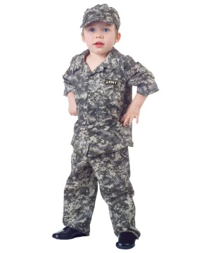 Toddler U.s. Army Camo Costume