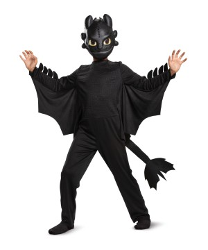 Toothless Classic Kids Costume