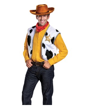 Disney Toy Storys Woody Mens Costume