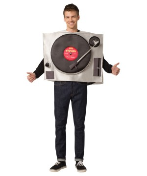Turntable Unisex Costume