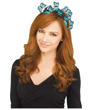 Turquoise Butterfly Hairband