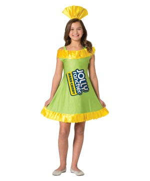 Tween Jolly Rancher Apple Dress
