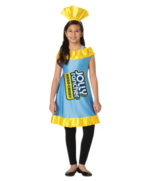 Tween Jolly Rancher Blue Raspberry Dress