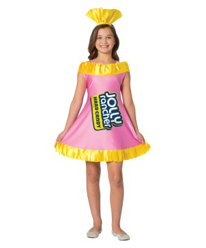 Girls Jolly Rancher Blue Raspberry Dress