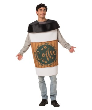 Unisex Coffee Costume
