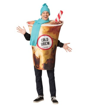 Unisex Cold Brew Coffee Costume