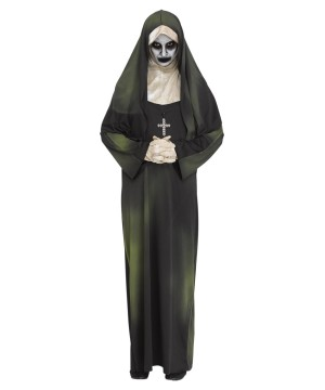 Unisex Possessed Nun Costume