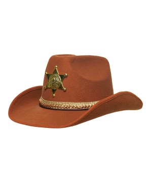 Unisex Sheriff Adult Brown
