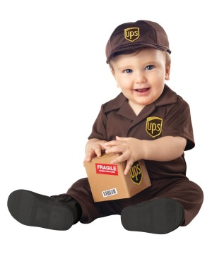 Ups Worker Toddler Costume