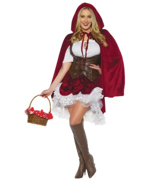 Womens Riding Hood Costume