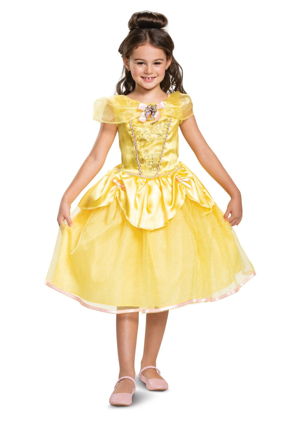 Kids Disney Belle Girls Costume