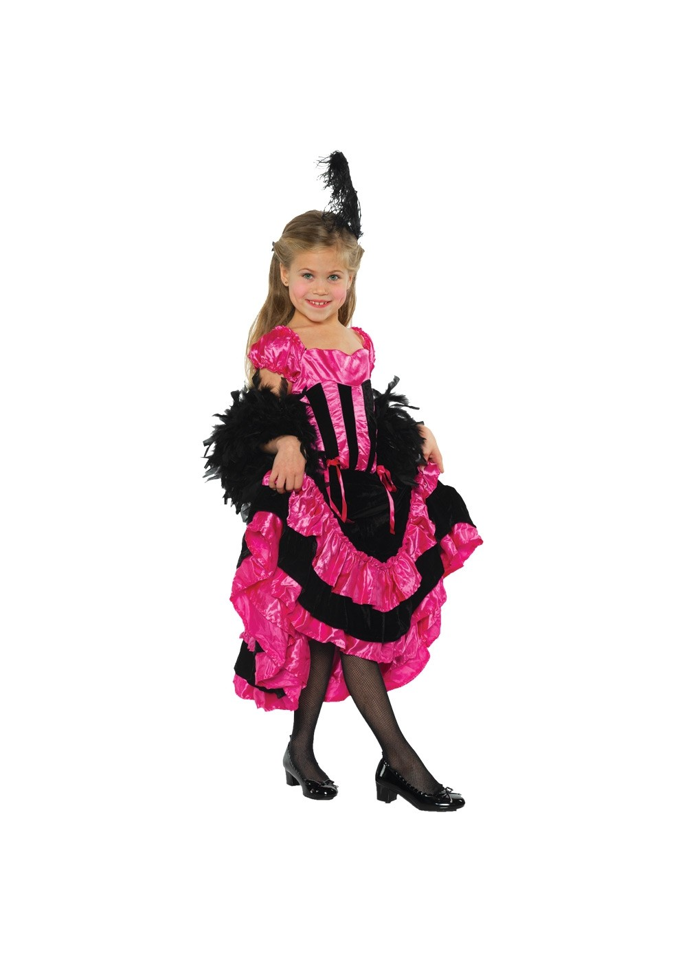 Kids Can Can Girl Costume