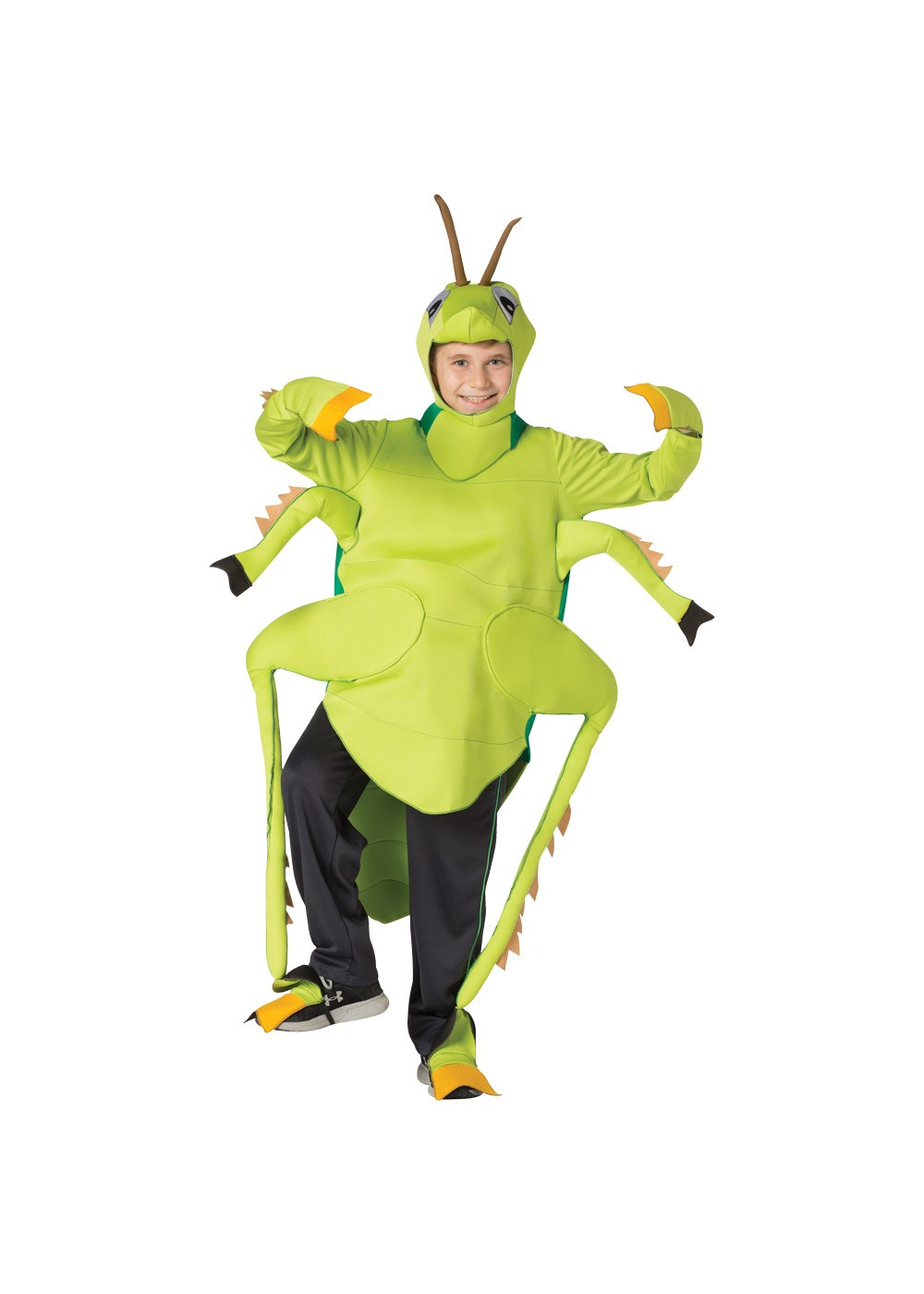 Kids Childrens Grasshopper Costume