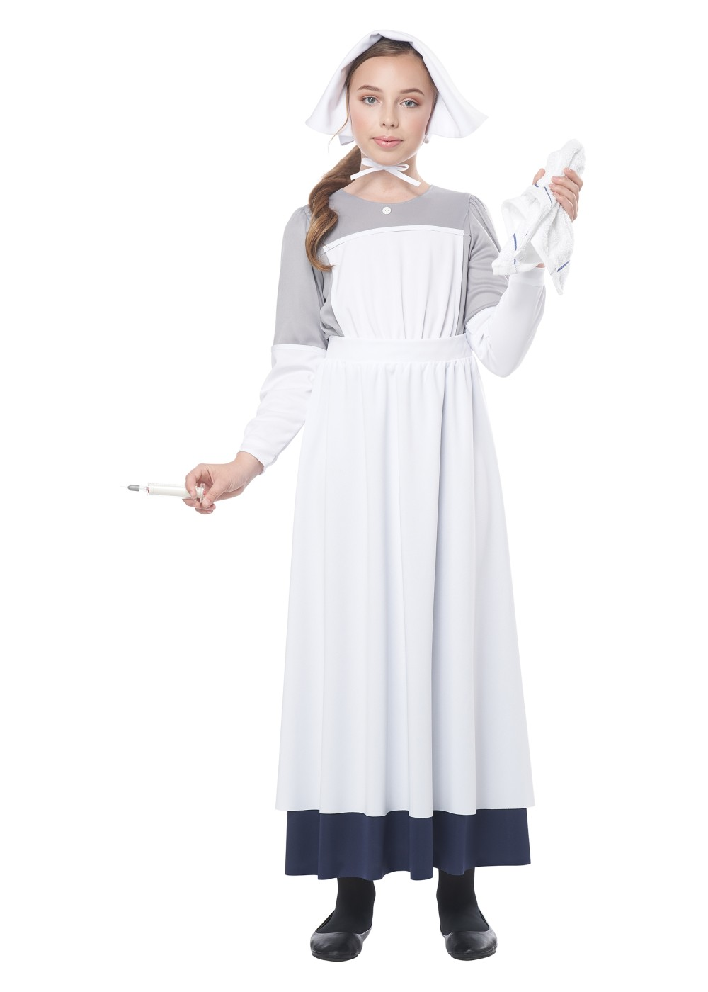 Kids Civil War Nurse Girl Costume