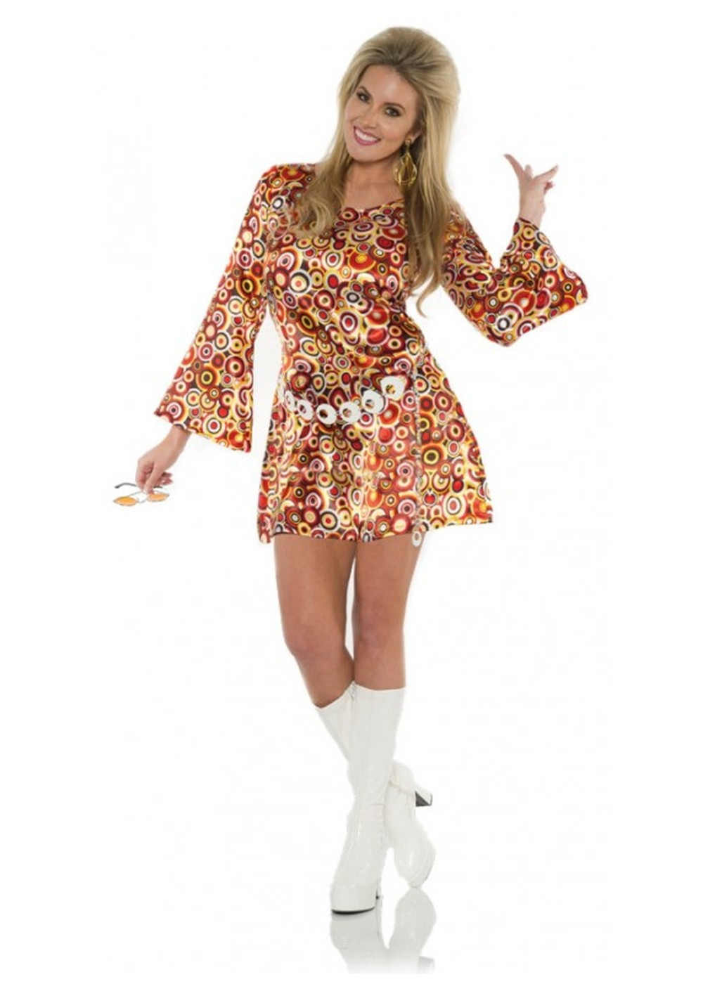 Disco Dress Women Costume