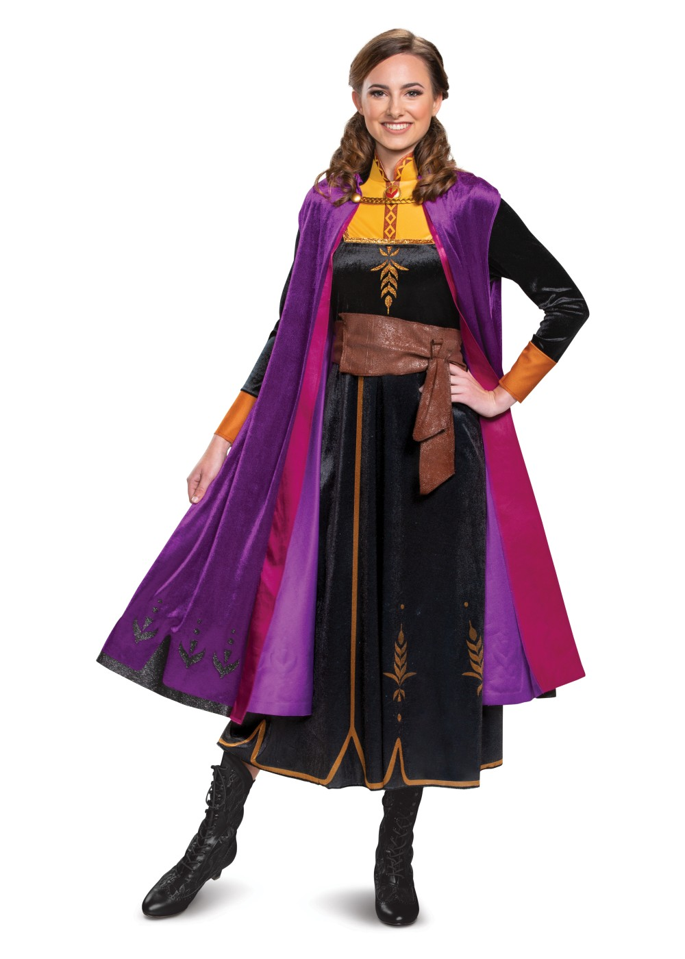 Womens Disney Anna Costume Deluxe