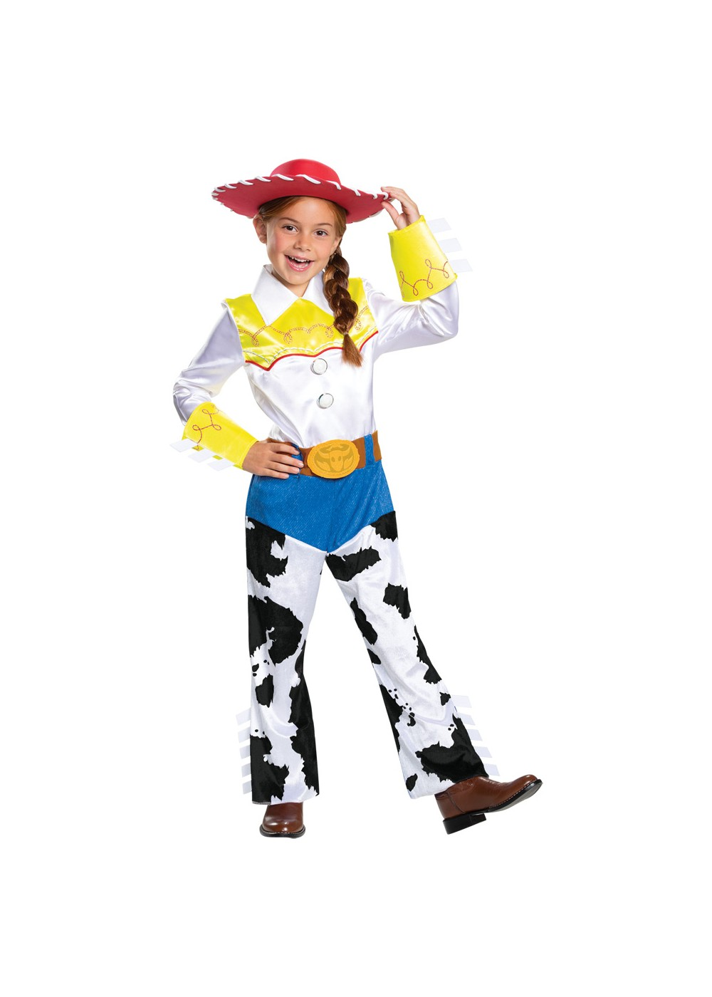 Kids Girls Disney Jessie Costume Deluxe