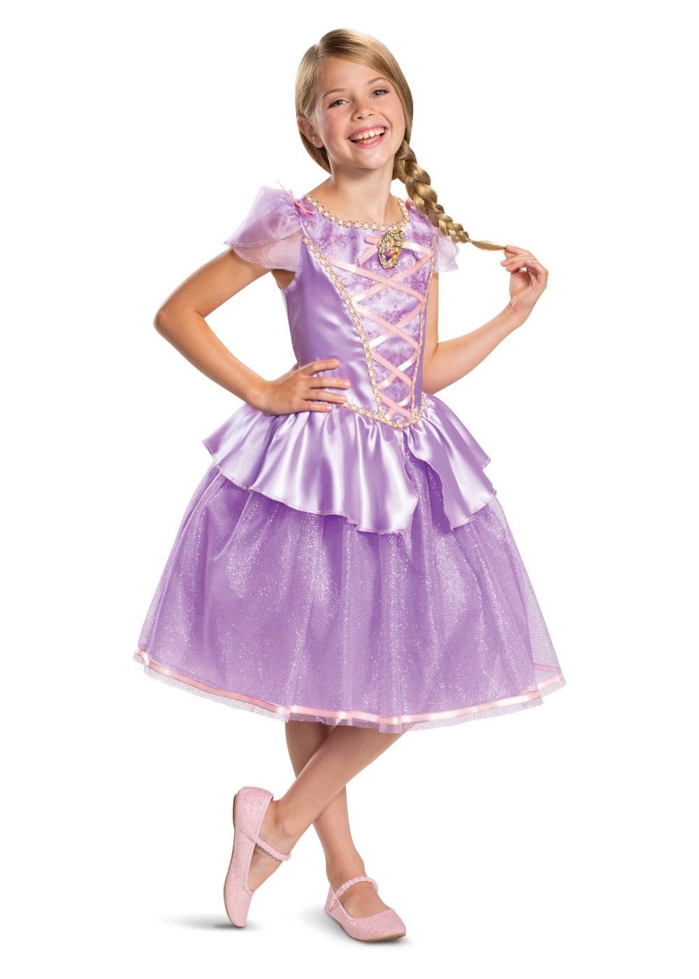 Kids Disneys Rapunzel Girl Costume