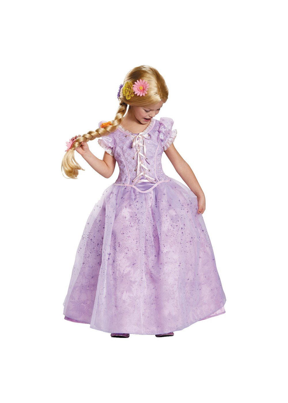 Kids Disneys Rapunzel Girls Prestige Costume