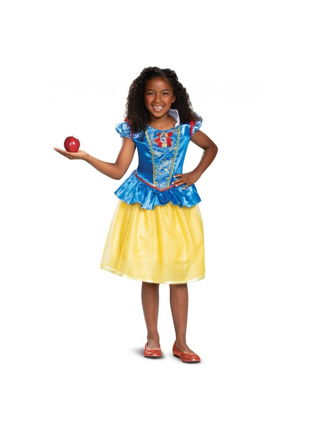 Kids Disneys Snow White Girls Costume