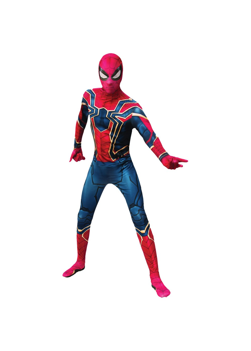 Endgame 2nd Skin Suit Iron Spider Costume