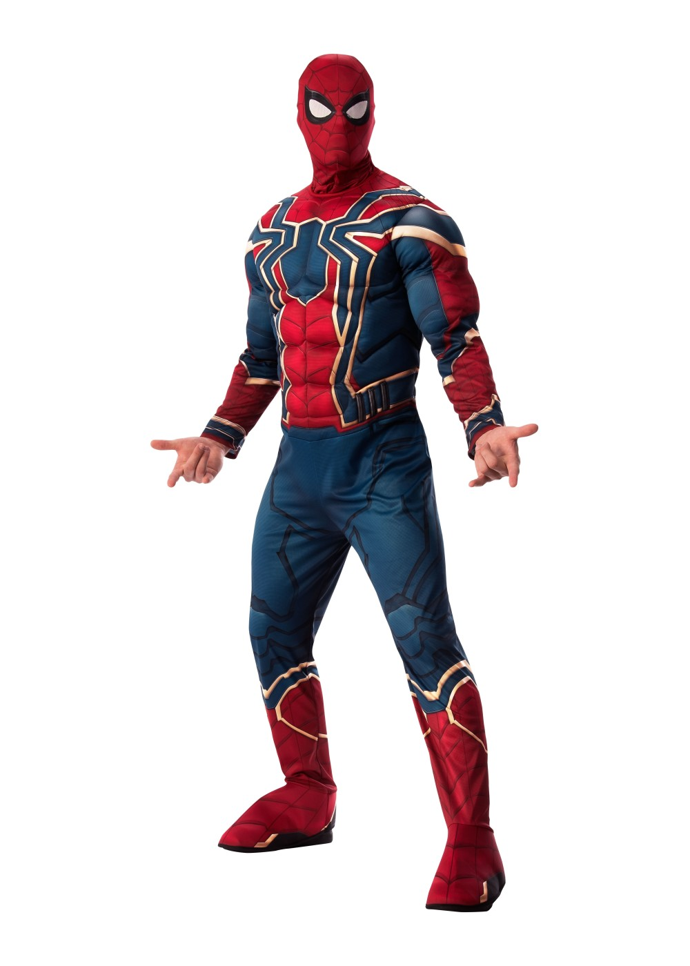 Mens Endgame Iron Spider Costume Deluxe